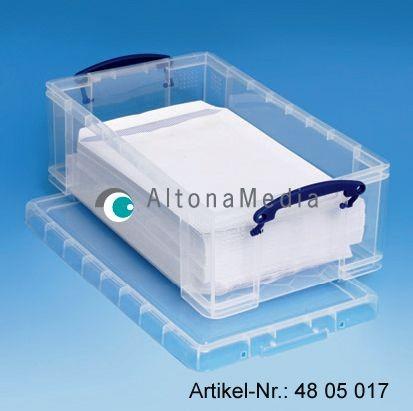 12 Liter Kunststoffbox mit Deckel