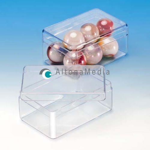 42,3 ml Dose - 58 x 38 x 23 mm Klarsichtdose mit Deckel Kleinpack