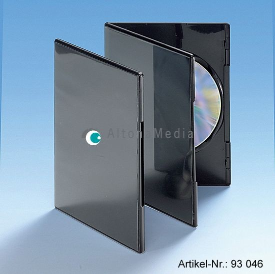 DVD-Slimbox superdünn schwarz