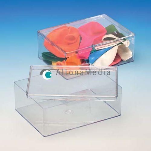 490,7 ml Dose - 130 x 95 x 45 mm Klarsichtdose mit Deckel Kleinpack