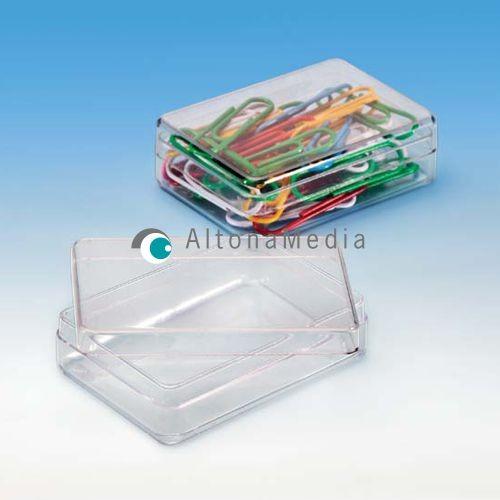 32,2 ml Dose - 58 x 38 x 18 mm Klarsichtdose mit Deckel Kleinpack