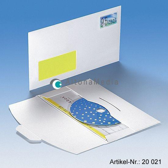 DiscMail CD1 mit Fenster