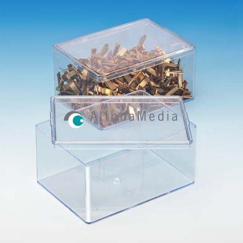 251,9 ml Dose - 95 x 65 x 45 mm Klarsichtdose mit Deckel Kleinpack