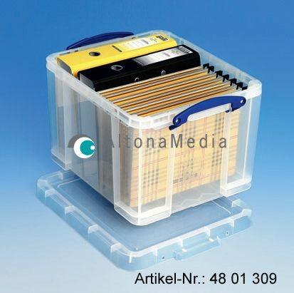 35 Liter Kunststoffbox mit Deckel