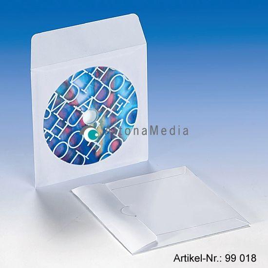 CD-Archivtasche, Klappe nicht klebend