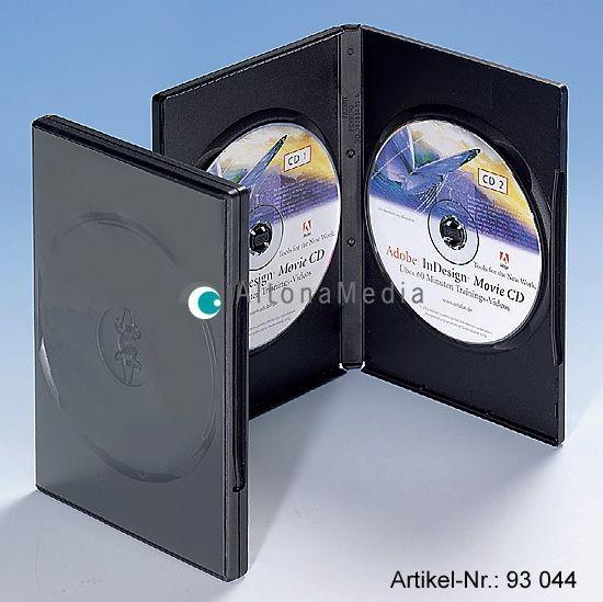 Zwei-DVD-Box schwarz