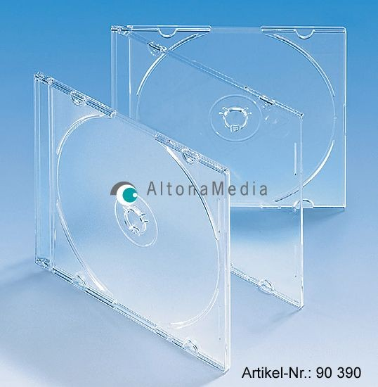 Slim-Case 5,2 mm, Bodenteil transparent matt