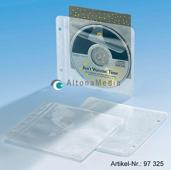 CD-Einhefter aus PP mit Vlies