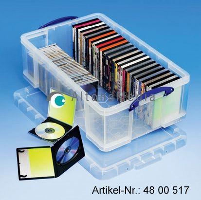 50 Liter Kunststoffbox mit Deckel