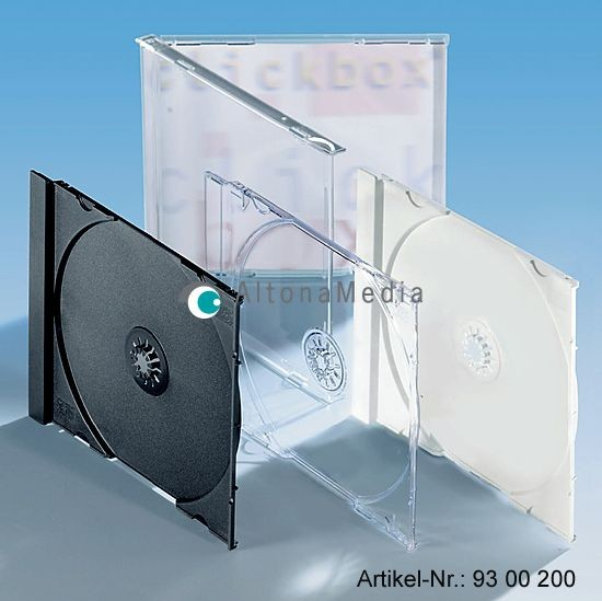 CD-Tray, 100er Pack transparent