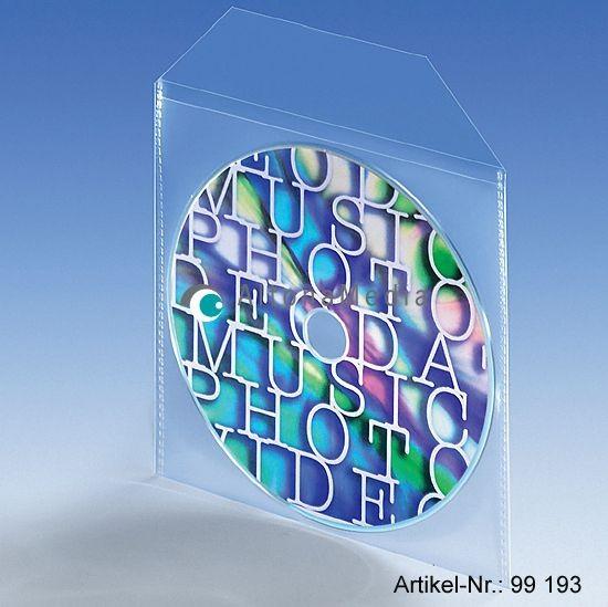 CD-Stecktasche PP mit Klappe