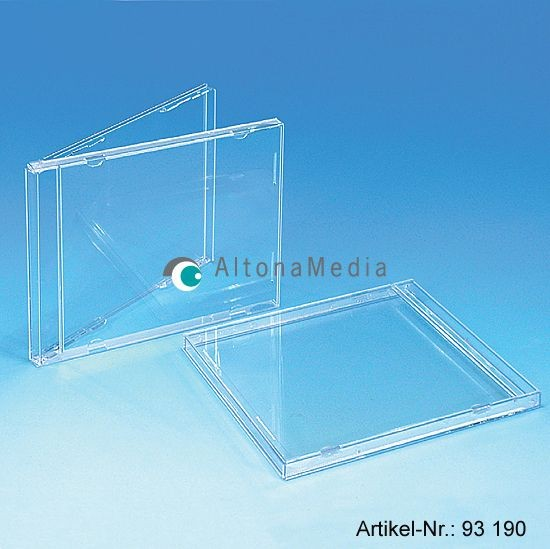 CD-Leerhüllen - Jewel Box klar ohne Tray