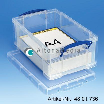 9 Liter Kunststoffbox mit Deckel