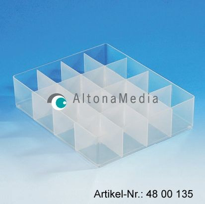 16-Fach Trenner für Kunststoffbox mit Deckel