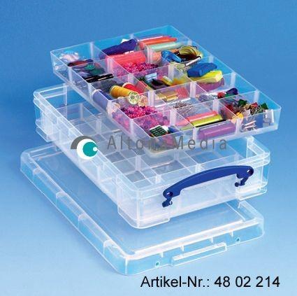 Hobby Einsatz für Kunststoffbox mit Deckel