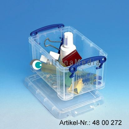 0,7 Liter Box Really Useful Box® Kunststoffbox mit Deckel