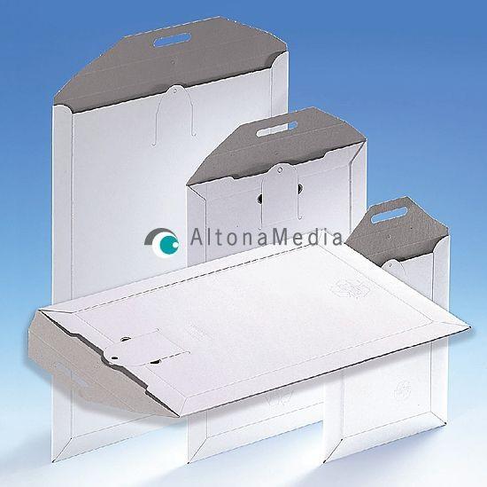 Versandtasche mit Steckverschluss, 100er Pack A5+ 175 x 250 mm