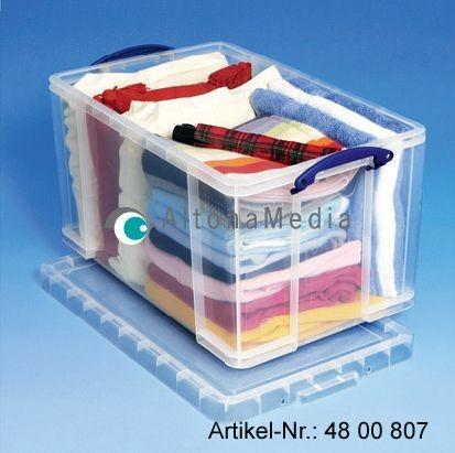 84 Liter Kunststoffbox mit Deckel