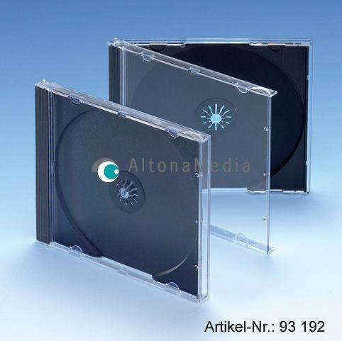 CD-Ersatzhüllen - Jewel Box mit schwarzem Tray