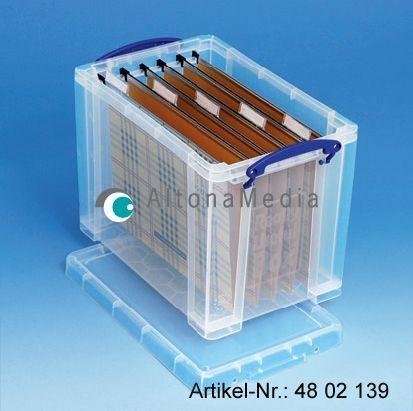 19 Liter Kunststoffbox mit Deckel