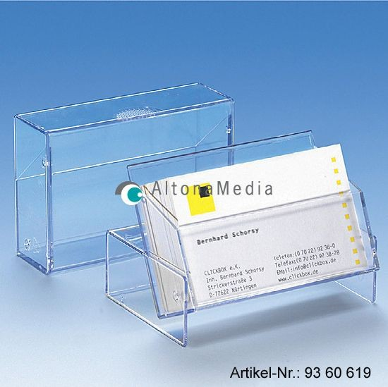 Visitenkartenbox groß