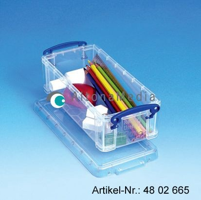 0,9 Liter Kunststoffbox mit Deckel