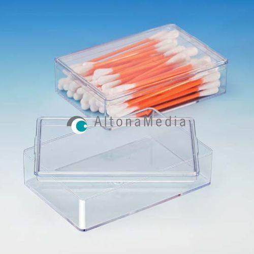 117,2 ml Dose - 95 x 65 x 22 mm Klarsichtdose mit Deckel Kleinpack
