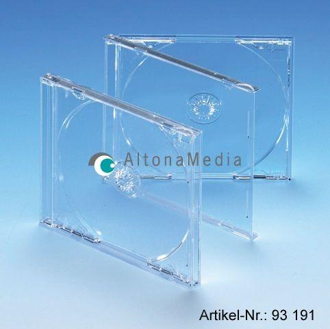 CD-Ersatzhüllen - Jewel Box mit klarem Tray